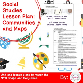 2nd Grade Social Studies Unit Introduction Lesson Plan: Communities and Maps