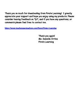2nd Grade Social Studies Unit 3 vocab review