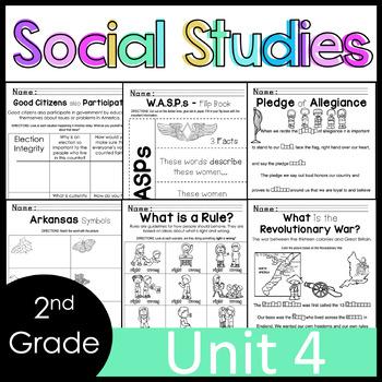 2nd Grade Social Studies - Unit 4 - AMERICA: Patriots, Culture, Government