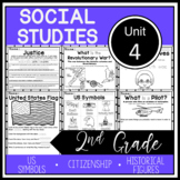 2nd Grade Social Studies - Unit 4 - Citizenship, USA, Historical Figures
