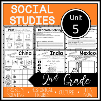 2nd Grade - Social Studies - Unit 5 - THE WORLD: Maps, Globes, Seasons, Weather