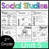 2nd Grade - Social Studies - Unit 5 - THE WORLD: Maps, Glo