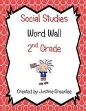 2nd Grade Social Studies Word Wall