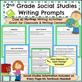 2nd Grade Social Studies Writing Prompts