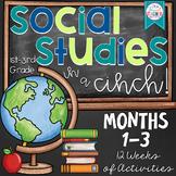 2nd Grade Social Studies in a Cinch! Months 1-3