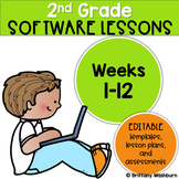 2nd Grade Technology Lessons Weeks 1-12