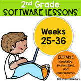 2nd Grade Technology Lessons Weeks 25-36