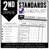 2nd Grade South Carolina Standards Checklists