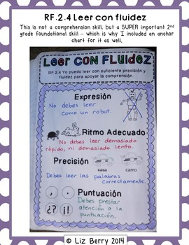 2nd Grade Spanish/English Interactive Reading Notebook {Common Core Aligned}