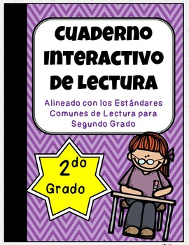2nd Grade Spanish Interactive Reading Notebook {Common Cor