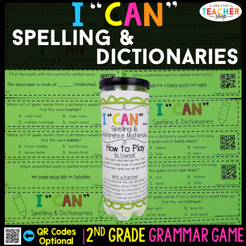 2nd Grade Spelling & Dictionaries Game