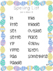 2nd Grade Spelling Lists - Reading Wonders Unit 6