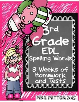 3rd Grade EDL Spelling Words