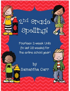 2nd Grade Spelling/Word Study for the Whole Year!