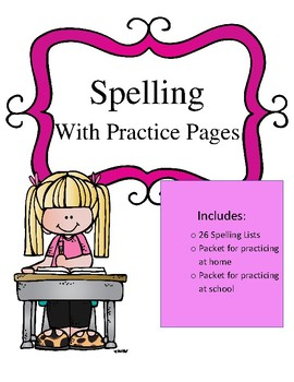 2nd Grade Spelling and Practice Pages (28 Weeks)