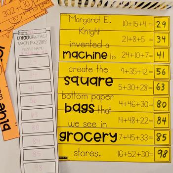 2nd Grade Math Games | 2nd Grade Math Centers | 2nd Grade Math Puzzles | March