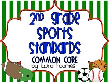 2nd Grade Sports Standards COMMON CORE