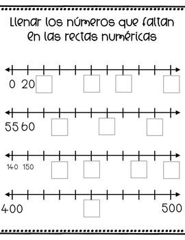 2nd Grade St. Patrick's Day Math Packet - SPANISH