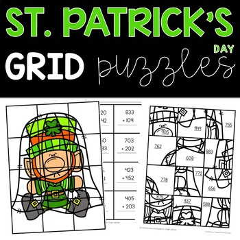2nd Grade St. Patrick's Day Math and Literacy Activities
