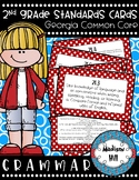 2nd Grade Standards Cards for Grammar (Georgia Common Core)