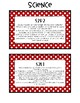 2nd Grade Standards Cards for Science (Georgia Common Core)