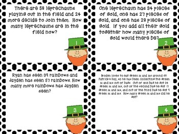 2nd Grade Story Problems Part #2  (One and Two Step, Within 100, + and -)