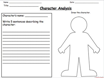 2nd Grade Story Structure