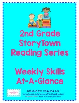 2nd Grade StoryTown Reading Series: Weekly Skills At-A-Glance