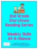 2nd Grade StoryTown Reading Series: Weekly Skills At-A-Glance