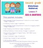 2nd Grade Storytown - Lesson 7 Study Pack (Gus & Grandpa)
