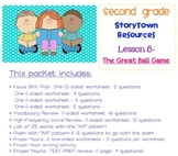 2nd Grade Storytown - Lesson 8 Study Pack (The Great Ball Game)