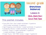 2nd Grade Storytown - Lesson 9 Study Pack (Click, Clack Moo)