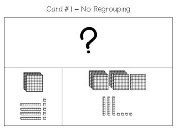 2nd Grade Strip Diagrams with Base-10 Blocks
