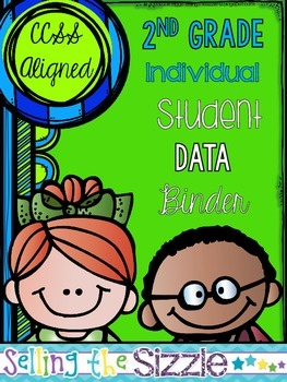 2nd Grade Student Data Binder- with Editable pages