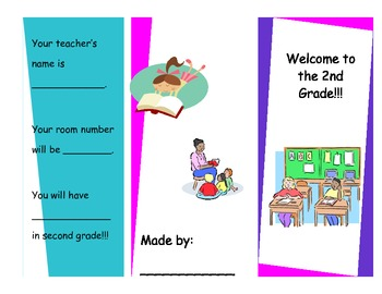 2nd Grade Student Made Brochure