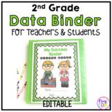 2nd Grade Data Binder Notebook for Teachers & Students