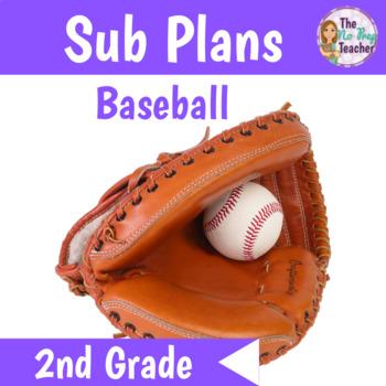 Sub Plans 2nd Grade Baseball Theme