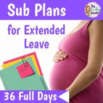 2nd Grade Sub Plans Full Year Bundle