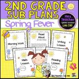 2nd Grade Sub Plans: Spring Fever!