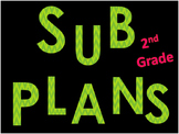 2nd Grade Substitute Plans