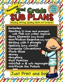 2nd Grade Substitute Plans - Sub Plans for Second Grade