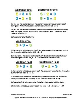 2nd Grade Subtraction Lessons, Worksheets, Solution Manuals