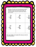 2nd Grade Subtraction with Regrouping Error Analysis