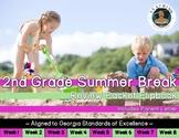 2nd Grade Summer Break Review Packet Flipbook
