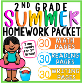 2nd Grade Summer Packet (for Rising 3rd Graders)   Distance Learning