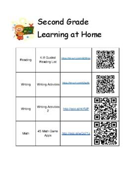 2nd Grade Summer Learning Activities