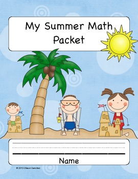 2nd Grade Summer Math Workbook- Common Core Aligned