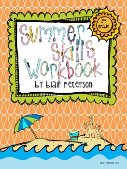 2nd Grade Summer Skills Workbook: Common Core Review