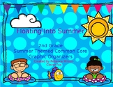 2nd Grade Summer Themed Graphic Organizers
