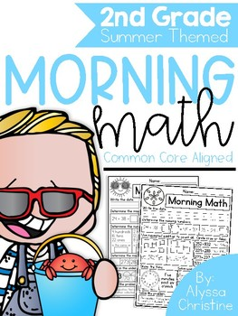 2nd Grade Summer Morning Math